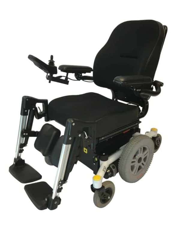 Webster REHAB X10-MWD S Electric Power Wheelchair 3