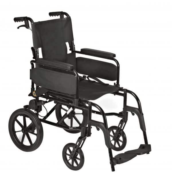 Webster Lite 2: Lightweight Aluminium Attendant Propelled Wheelchair 1