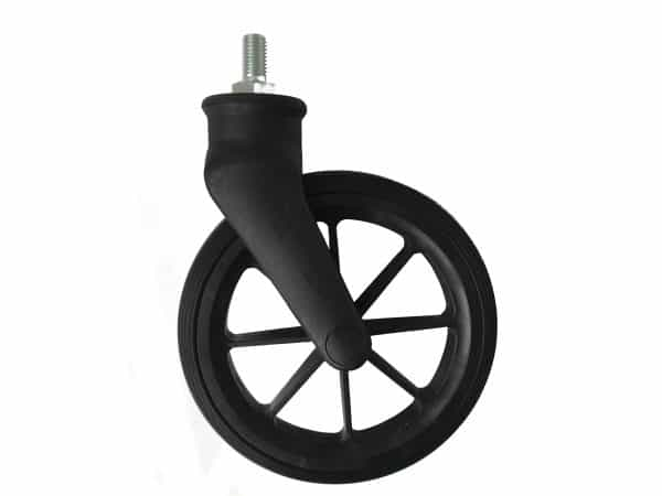8TRL/9TRL Front Wheel/Castor in Black 1