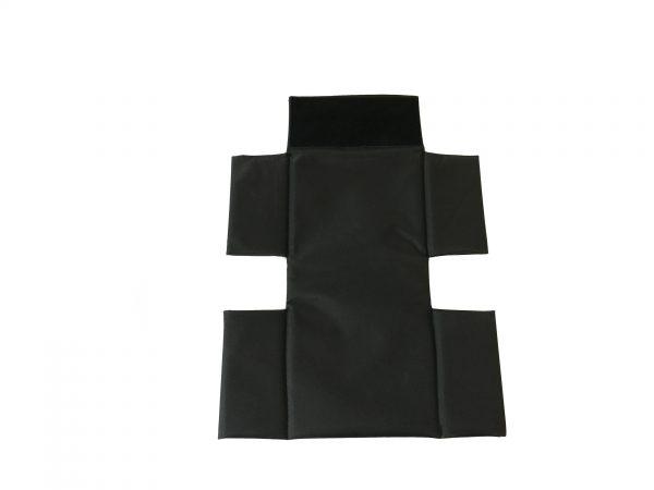 Webster Lite 2 Back Canvas: Padded in Black 1