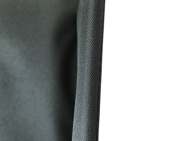 Dash Lite 2 Back Canvas: Padded in Black 4