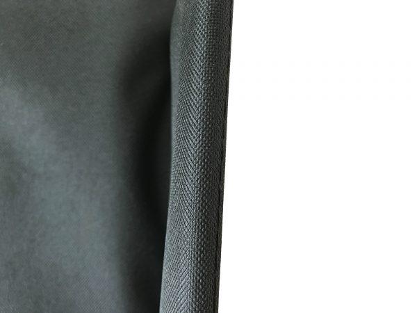 Webster Lite 2 Back Canvas: Padded in Black 4