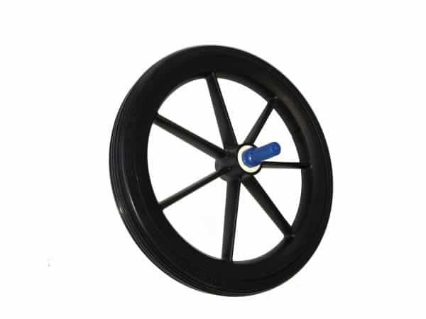9TRL 315mm Rear Wheel Assembly in Black 3