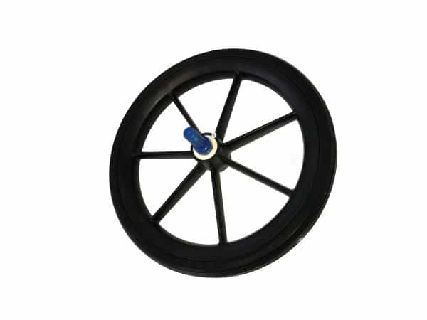 9TRL 315mm Rear Wheel Assembly in Black 4