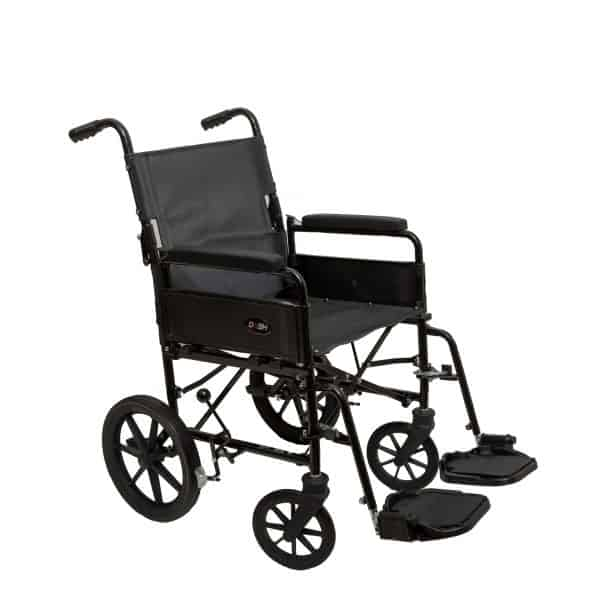 Dash 9TRL: General Purpose Folding Back Attendant Propelled Wheelchair 1