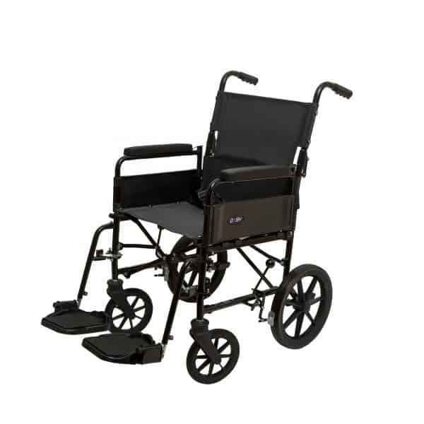 Dash 9TRL: General Purpose Folding Back Attendant Propelled Wheelchair 2