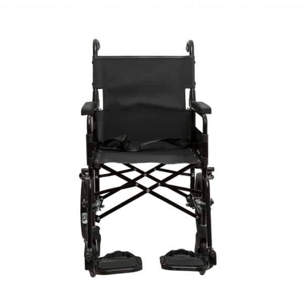 Dash 9TRL: General Purpose Folding Back Attendant Propelled Wheelchair 3