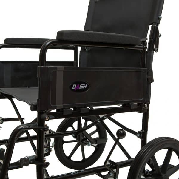 Dash 9TRL: General Purpose Folding Back Attendant Propelled Wheelchair 5