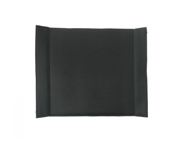 Stowaway Lightweight Seat Canvas in Black 2