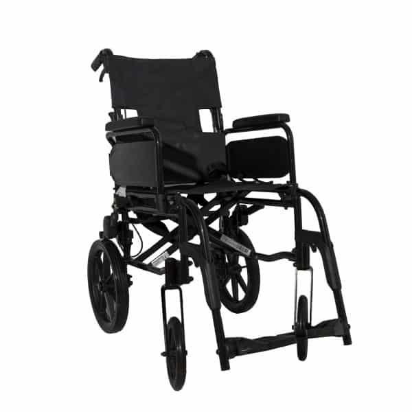 Webster Lite 2: Lightweight Aluminium Attendant Propelled Wheelchair 2