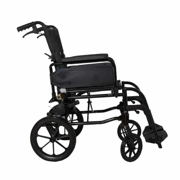 Webster Lite 2: Lightweight Aluminium Attendant Propelled Wheelchair 3