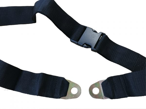 Webster Lite 2 SP/AP Strong Lap Belt in Black 1