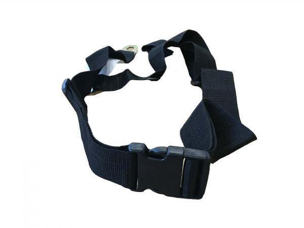 Webster Lite 2 SP/AP Strong Lap Belt in Black 2