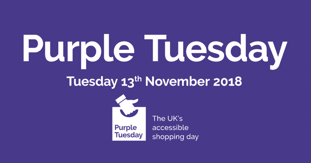 Purple Tuesday – the UK's accessible shopping day 1
