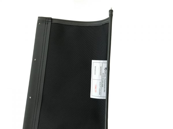 8TRL/9TRL Seat Canvas Unpadded in Black 4
