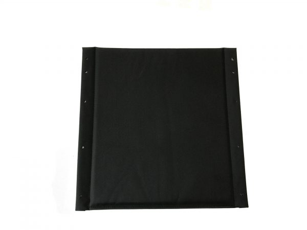 Dash Lite 2 Seat Canvas: Padded in Black 2