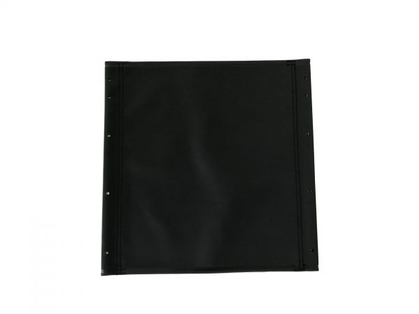 Dash Lite 2 Seat Canvas: Unpadded in Black 2
