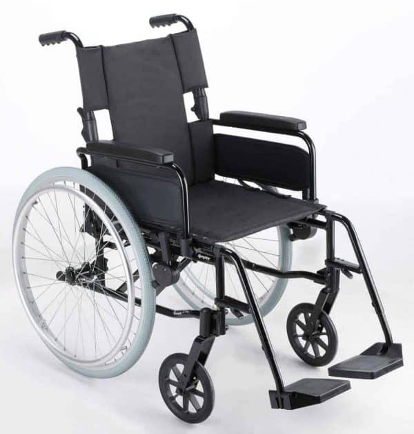 Webster Lite 2: Lightweight Aluminium Self Propelled Wheelchair 1