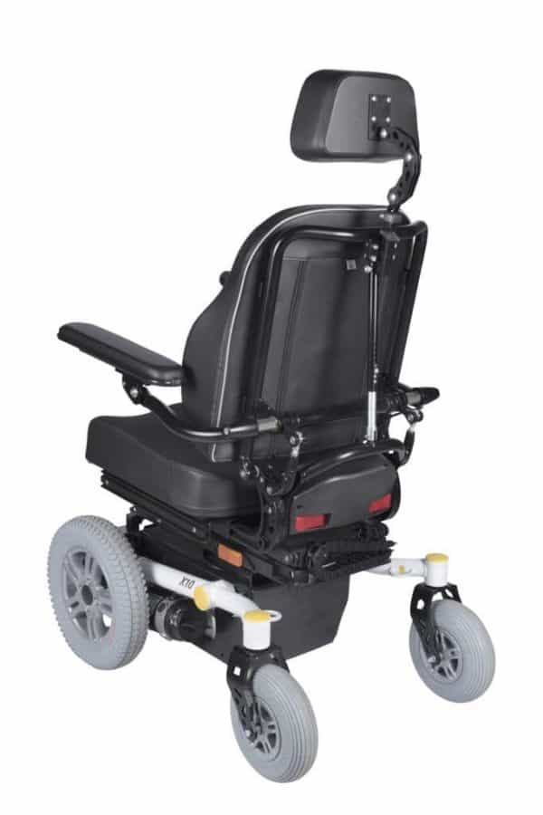 Dash REHAB X10-FWD Electric Power Wheelchair 4