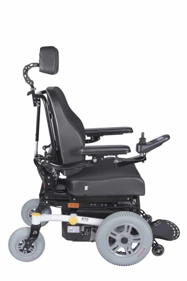 Dash REHAB X10-FWD S Electric Power Wheelchair 2