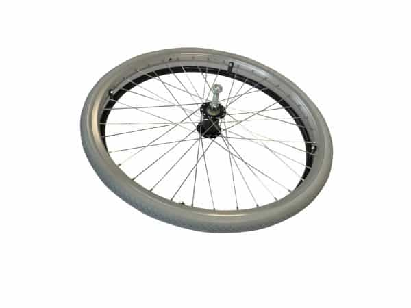 "8TRL 22"" Fixed Wheel with Puncture Free Tyre and Black Handrim 3"
